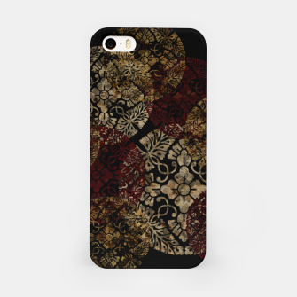 Thumbnail image of Japanese traditional family emblem decoration like Samurai wear iPhone Case, Live Heroes