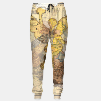 Miniaturka Angel Vintage Map DF Sweatpants, Live Heroes