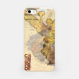 Thumbnail image of Angel Vintage Map DF iPhone Case, Live Heroes