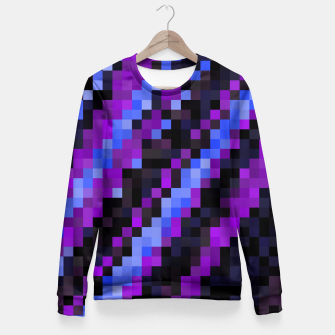 Miniatur PIxelated Fitted Waist Sweater, Live Heroes