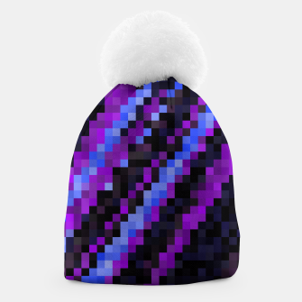 Thumbnail image of PIxelated Beanie, Live Heroes