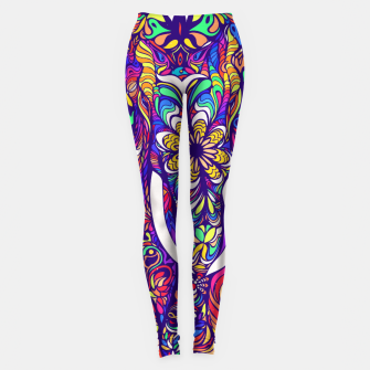Miniaturka Not a circus #elephant #Violet by #Bizzartino Leggings, Live Heroes