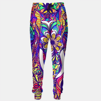 Miniaturka Not a circus #elephant #Violet by #Bizzartino Sweatpants, Live Heroes
