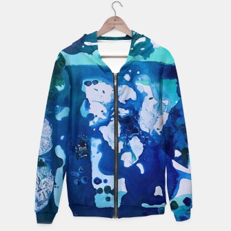 Miniatur Orca Whale Marvels at the Melting Ice, Environmental # 4 Hoodie, Live Heroes