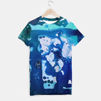 Thumbnail image of Orca Whale Marvels at the Melting Ice, Environmental # 4 T-shirt, Live Heroes