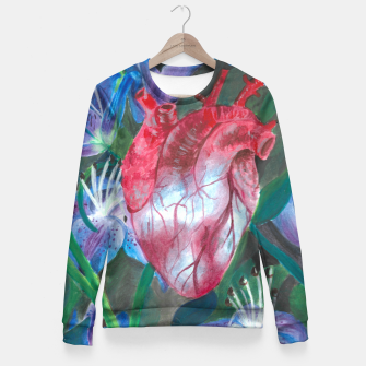 Miniatur Wild heart Fitted Waist Sweater, Live Heroes