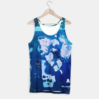 Thumbnail image of Orca Whale Marvels at the Melting Ice, Environmental # 4 Tank Top, Live Heroes