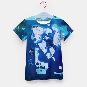 Miniatur Orca Whale Marvels at the Melting Ice, Environmental # 4 Kid's T-shirt, Live Heroes