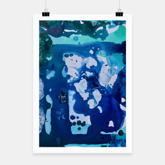 Miniatur Orca Whale Marvels at the Melting Ice, Environmental # 4 Poster, Live Heroes