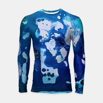 Thumbnail image of Orca Whale Marvels at the Melting Ice, Environmental # 4 Longsleeve Rashguard , Live Heroes