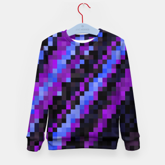 Thumbnail image of PIxelated Kid's Sweater, Live Heroes