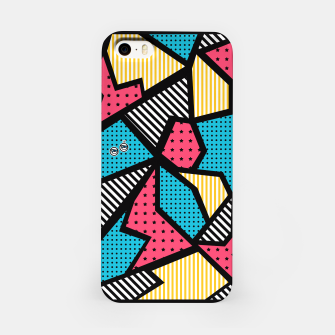 Thumbnail image of Geometric Fantasy #8 iPhone Case, Live Heroes