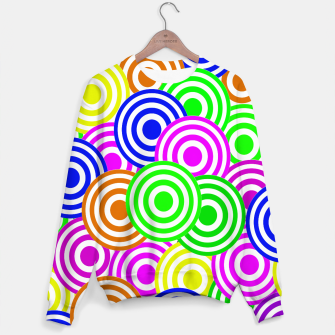 Thumbnail image of Vector Seamless pattern Decorative geometric  Sweater, Live Heroes