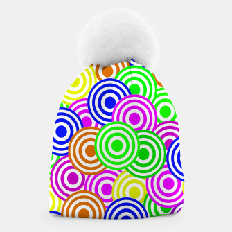 Thumbnail image of Vector Seamless pattern Decorative geometric  Beanie, Live Heroes