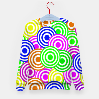 Thumbnail image of Vector Seamless pattern Decorative geometric  Kid's Sweater, Live Heroes