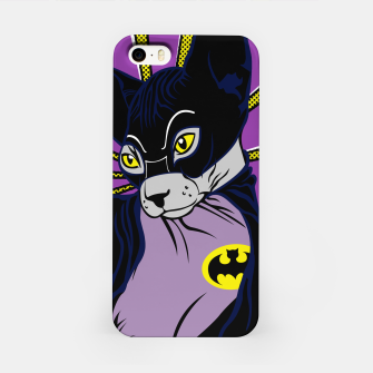 Thumbnail image of Bat Cat iPhone-Hülle, Live Heroes