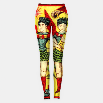 Thumbnail image of Vintage Japanese Matches Angels Leggings, Live Heroes