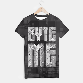 Thumbnail image of Byte Me T-shirt, Live Heroes
