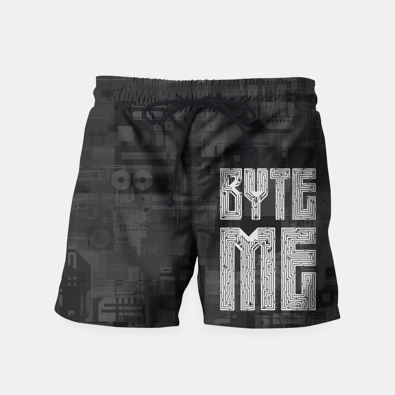 Image of Byte Me Swim Shorts - Live Heroes