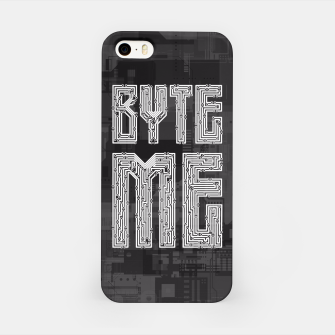 Thumbnail image of Byte Me iPhone Case, Live Heroes