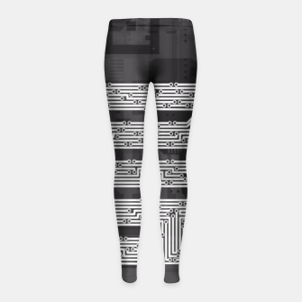 Byte Me Girl's Leggings thumbnail image