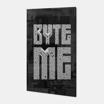 Byte Me Canvas thumbnail image