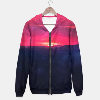 Thumbnail image of Red Dawn Zip up hoodie, Live Heroes