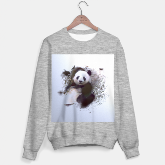 Imagen en miniatura de Animals and Art - Panda Sweater regular, Live Heroes