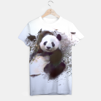 Miniatur Animals and Art - Panda T-shirt, Live Heroes