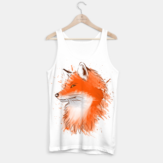 Thumbnail image of Water Color Fox Camiseta de tirantes, Live Heroes