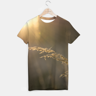 Miniatur Sunset grass T-shirt, Live Heroes