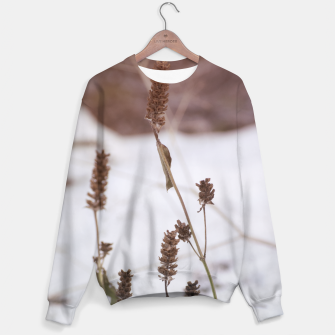 Thumbnail image of Plants in the snow Sweater, Live Heroes