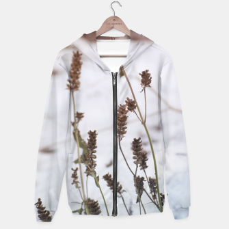 Thumbnail image of Plants in the snow Hoodie, Live Heroes