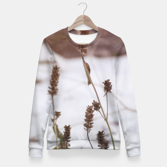 Miniaturka Plants in the snow Fitted Waist Sweater, Live Heroes