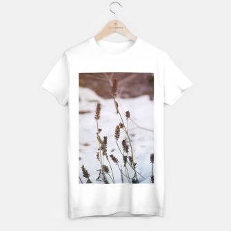 Thumbnail image of Plants in the snow T-shirt regular, Live Heroes