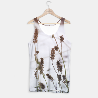Thumbnail image of Plants in the snow Tank Top, Live Heroes