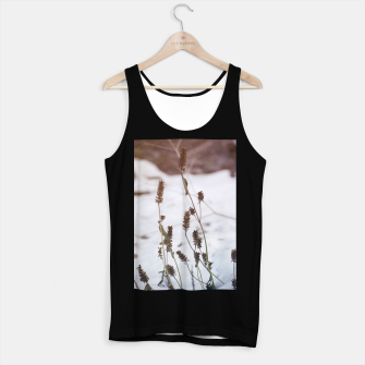 Miniaturka Plants in the snow Tank Top regular, Live Heroes