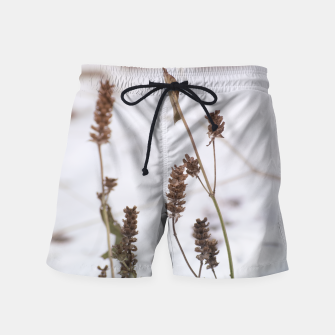 Thumbnail image of Plants in the snow Swim Shorts, Live Heroes