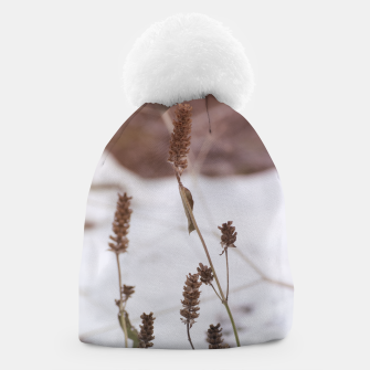 Thumbnail image of Plants in the snow Beanie, Live Heroes