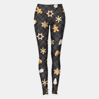 Miniaturka Gingerbread Dark Leggings, Live Heroes