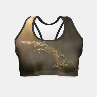 Thumbnail image of Sunset grass Crop Top, Live Heroes