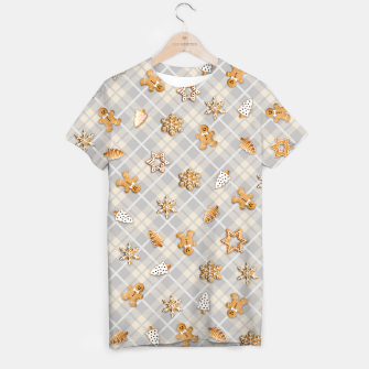 Miniatur Gingerbread Light T-shirt, Live Heroes