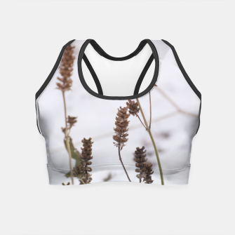 Thumbnail image of Plants in the snow Crop Top, Live Heroes