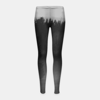 Thumbnail image of Foggy afternoon Girl's Leggings, Live Heroes