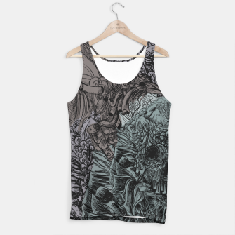 Thumbnail image of Skull Peaces Tank Top, Live Heroes