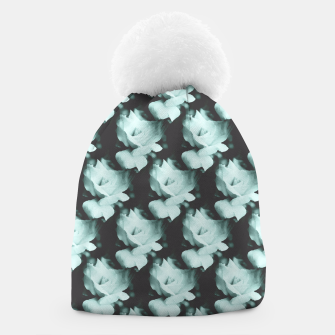 Thumbnail image of Vintage Roses Blue Pattern Beanie, Live Heroes