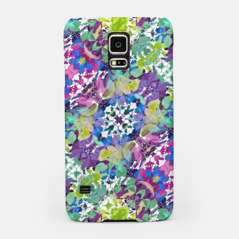 Thumbnail image of Colorful Modern Floral Print Samsung Case, Live Heroes