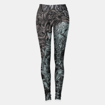 Miniature de image de Skull Peaces Leggings, Live Heroes