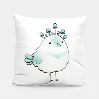 Miniaturka Tiny mushrooms bird Almohada, Live Heroes