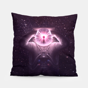 Thumbnail image of The mind blown Pillow, Live Heroes
